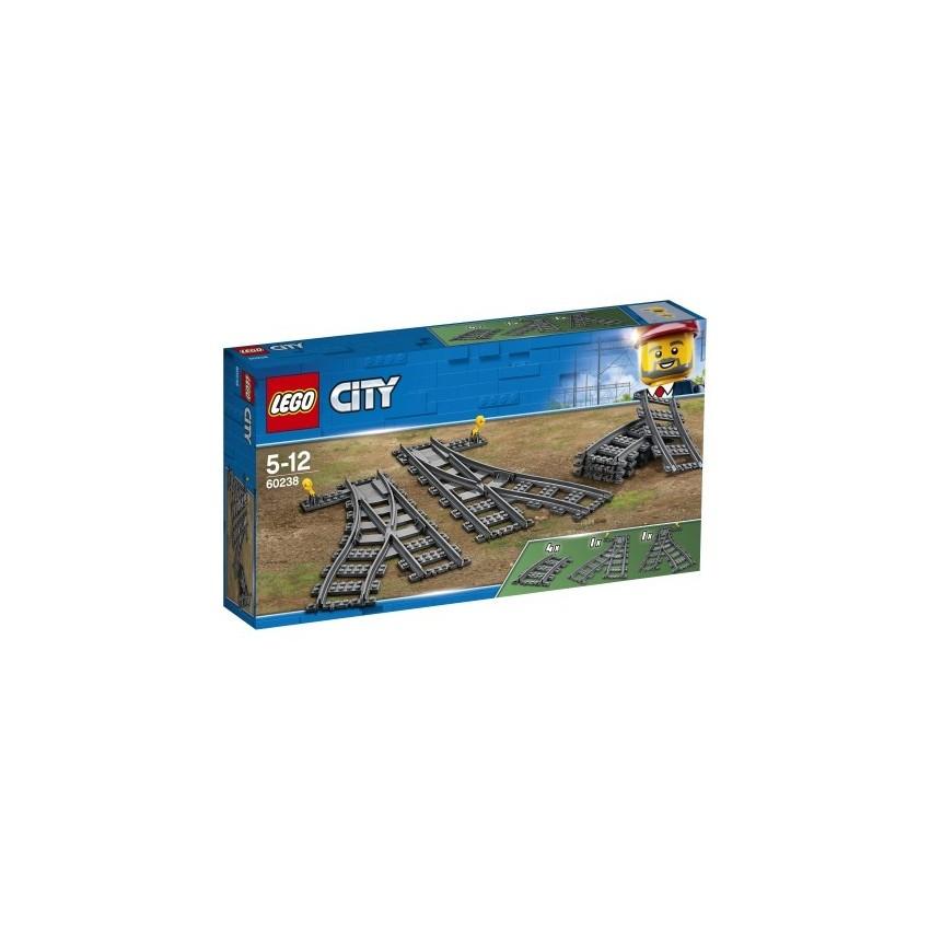 LEGO City 60238 Zwrotnice -...