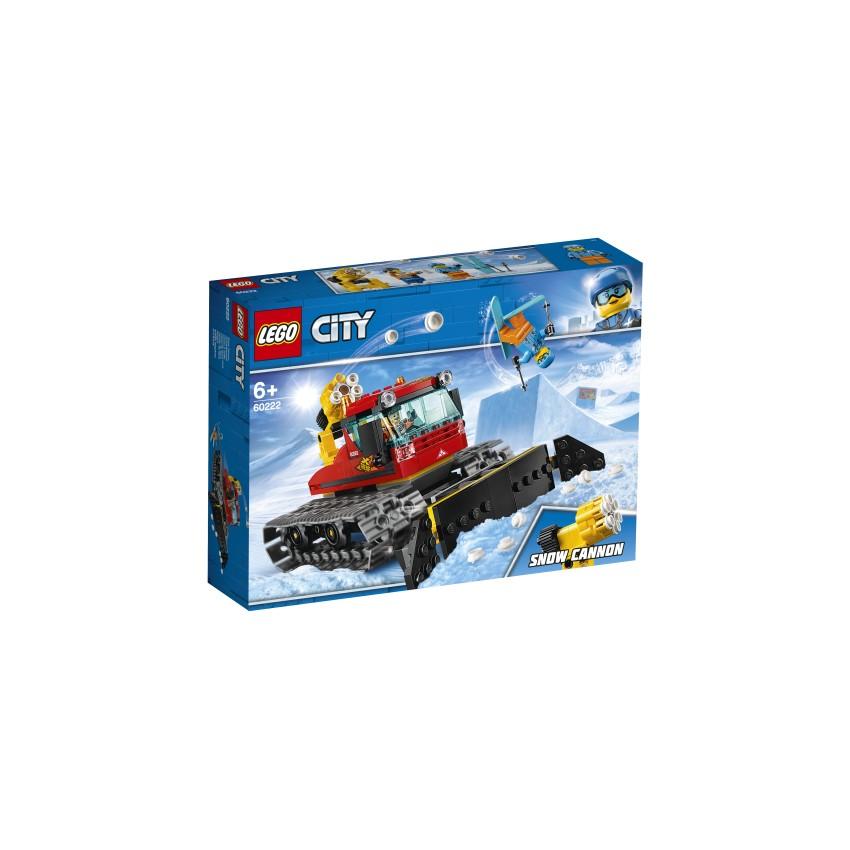 LEGO 60222 Pług gąsienicowy...