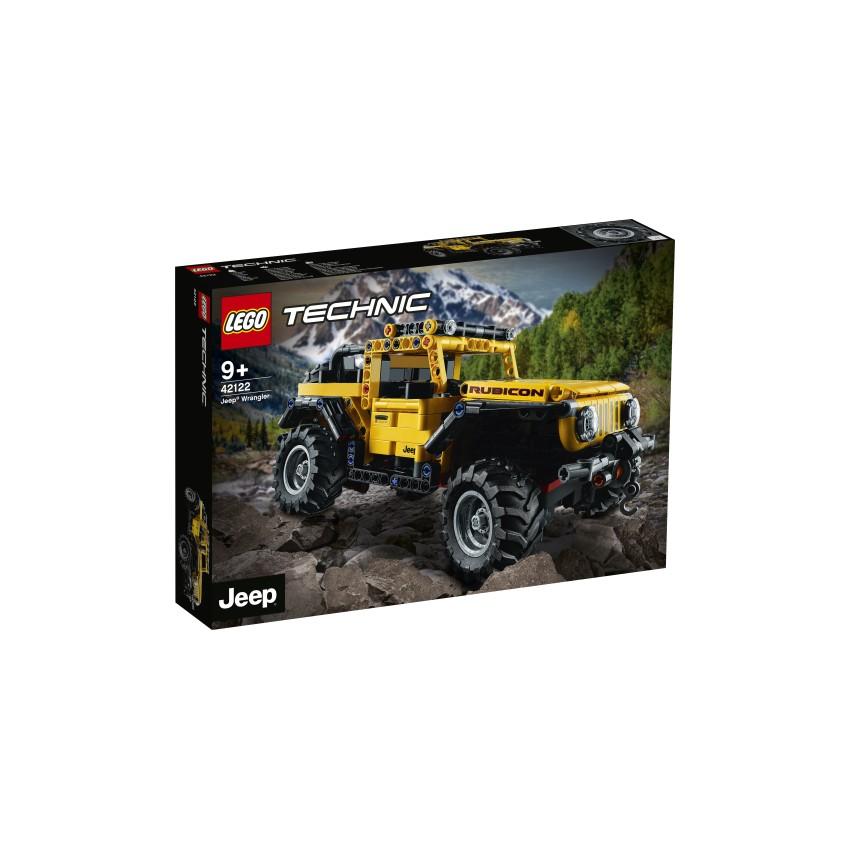 LEGO TECHNIC 42122 Jeep...