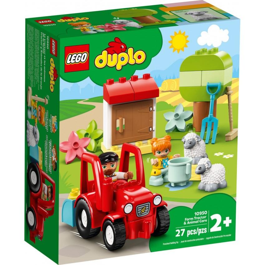 LEGO DUPLO 10950 Traktor i...