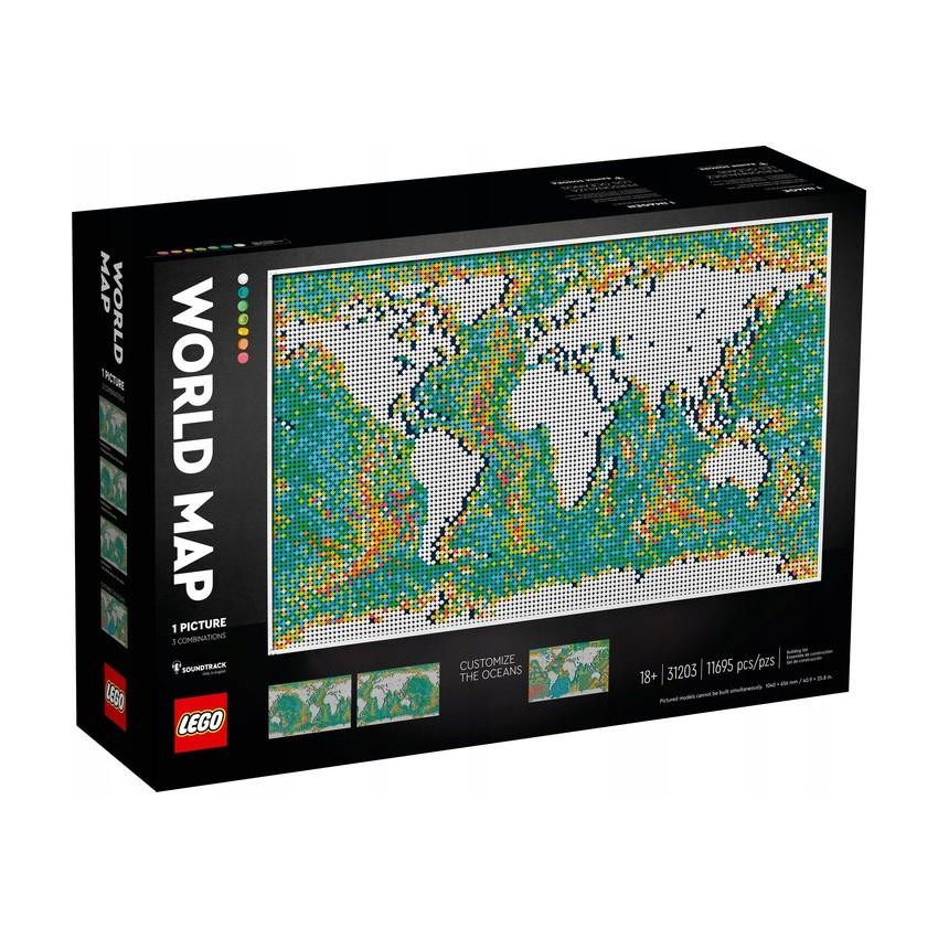 LEGO 31203 Art Mapa świata...