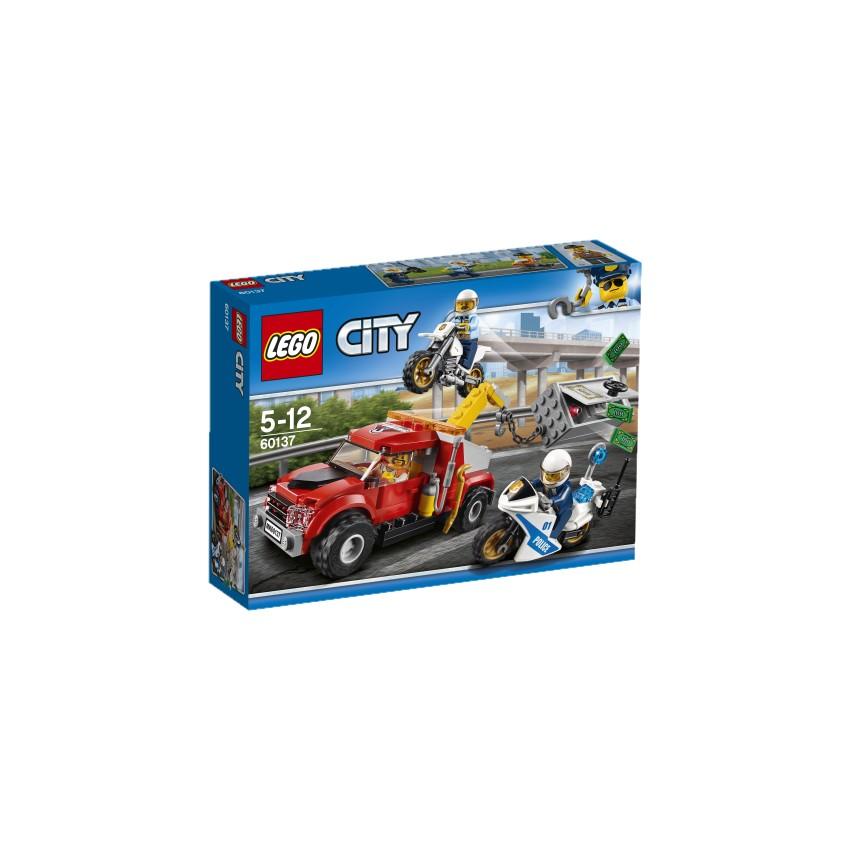 LEGO City 60137 Eskorta...