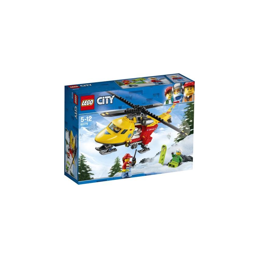 LEGO City 60179 Helikopter...